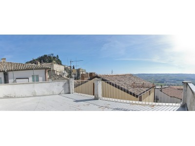 Properties for Sale_APARTMENT WITH PANORAMIC TERRACE IN THE HISTORIC CENTER OF FERMO in Marche in Italy in Le Marche_1