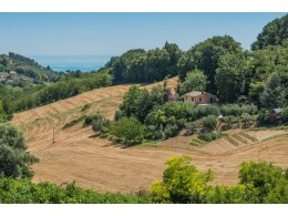 PRESTIGIOUS RENOVATED FARMHOUSE FOR SALE IN MASSIGNANO restored farmhouse in the Marche in Italy