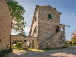 Antica filanda dell'800 renovated in stages and concluded in 2010 for sale in the Marches
