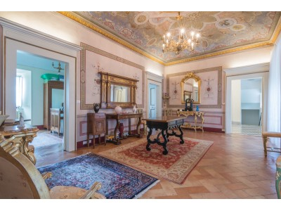 Properties for Sale_PRESTIGIOUS NOBLE FLOOR WITH GARDEN FOR SALE IN THE HISTORIC CENTER in Fermo in the Marche region of Italy in Le Marche_1