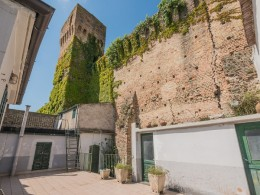 REAL ESTATE PROPERTY FOR SALE IN THE HISTORICAL CENTER, APARTMENTS FOR SALE WITH TERRACE in Fermo in the Marche in Italy