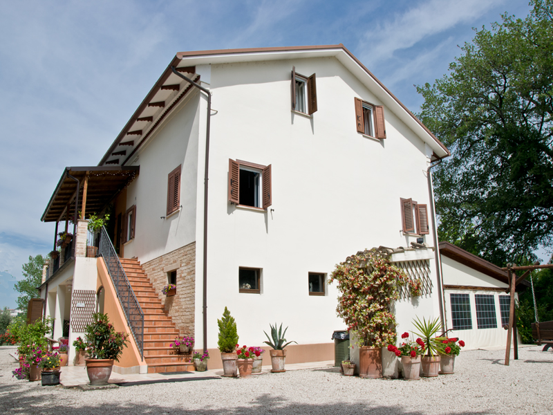 Restored Country House With Pool For Sale In Le Marche